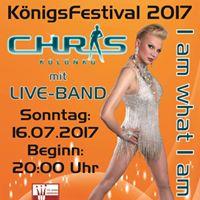 CHRIS Kolonko - I am what I am- mit Liveband