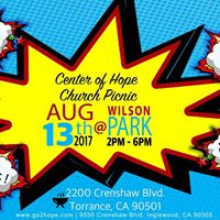2017 Center Of Hope Church Picnic