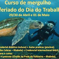 Curso de Mergulho - Feriado 01 de Maio