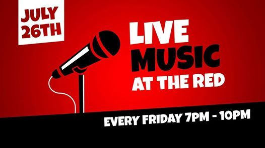 Brodie Glen live at the Red