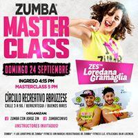 Mster Class Ivo Y Jorge  ZES Loredana  Instructores Invitados