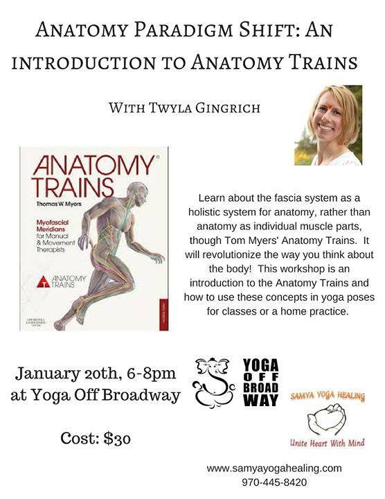 Anatomy Paradigm Shift An Intro To Anatomy Trains W Twyla At Yoga
