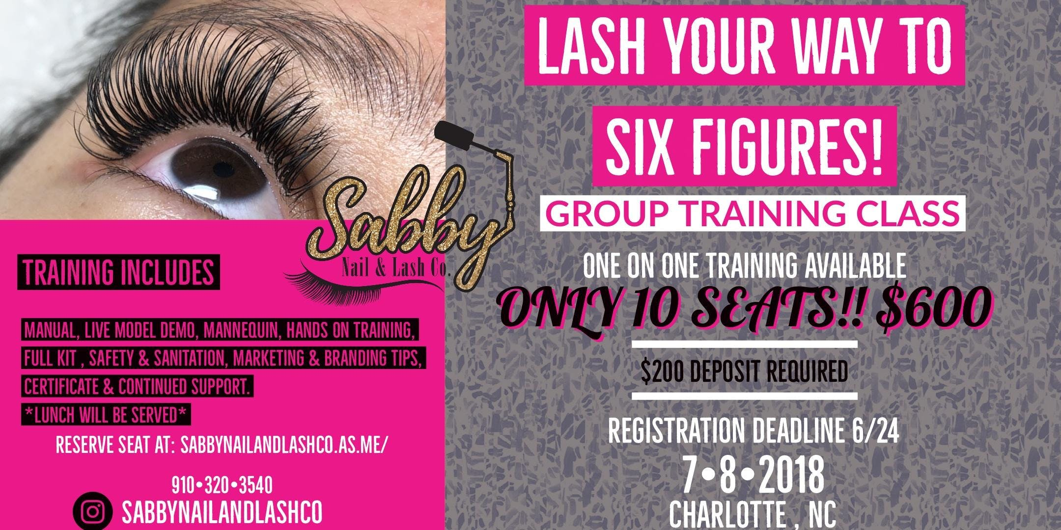 Eyelash Extension Training At Embassy Suites By Hilton Charlotte