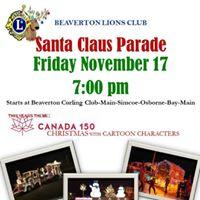 Beaverton Lions Santa Claus Parade
