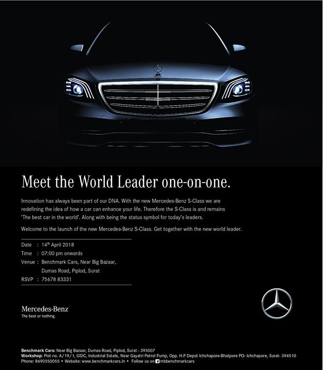 Mercedes-Benz S-Class Launch