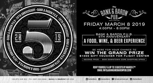 The Bank & Baron 5th Anniversary Celebration