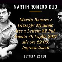 Martin Romero Duo LiveLettera82