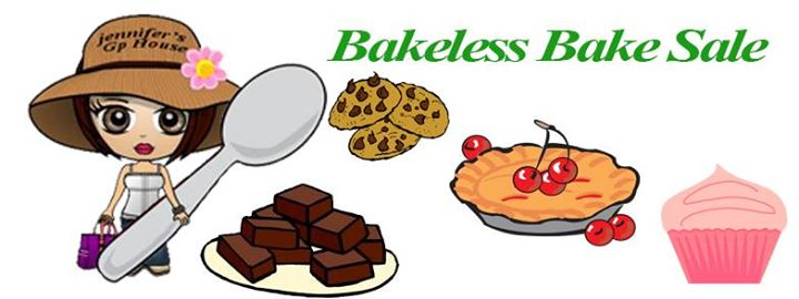 bakeless bake sale fundraiser for jennifers gp house at nowhere scituate