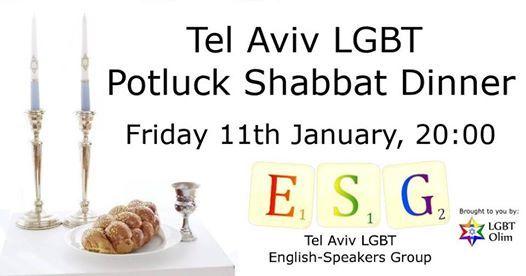 tel aviv lgbt potluck shabbat dinner fri 11th january 2000