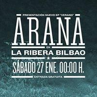 Concierto presentacin nuevo EP Arana - Verano