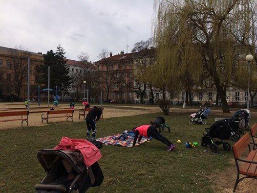 Fitmami v parku 28.jna