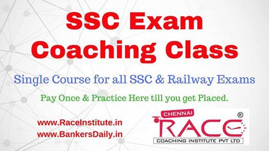 SSC & Railway New Batch starts from 15-10-2018 in Tirunelveli