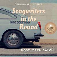 Songwriter Round with host Zach Balch
