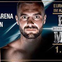 Dominic Bsel vs. Karo Murat Europameisterschaft Halb-Schwergewicht Boxen