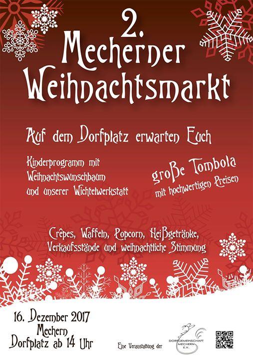 2. Mecherner Weihnachtsmarkt