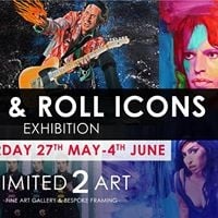 Rock &amp Roll Icons Exhibition