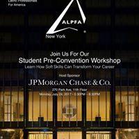 ALPFA NY Pre-Convention Student Workshop