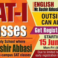 SAT-1 English by Mr. Bashir Abbasi and Maths by Mr. Altaf Shah