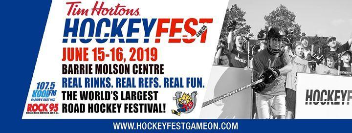 HockeyFest - Game On  Barrie