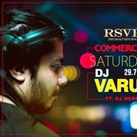 Commercial Saturday with DJ Varun ft. DJ Hermmus