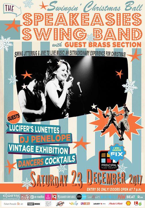 The Speakeasies Swing Band  Swingin Christmas Ball