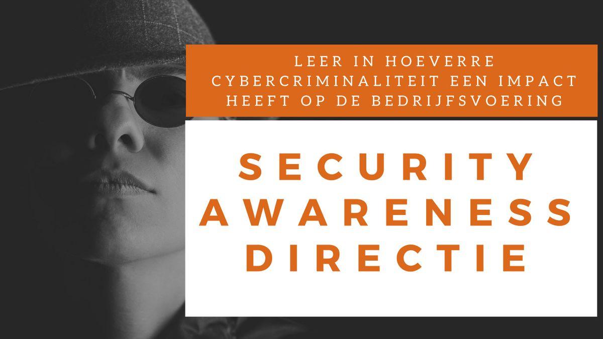 Security Awareness Directie Klassikale Training (Nederlands)