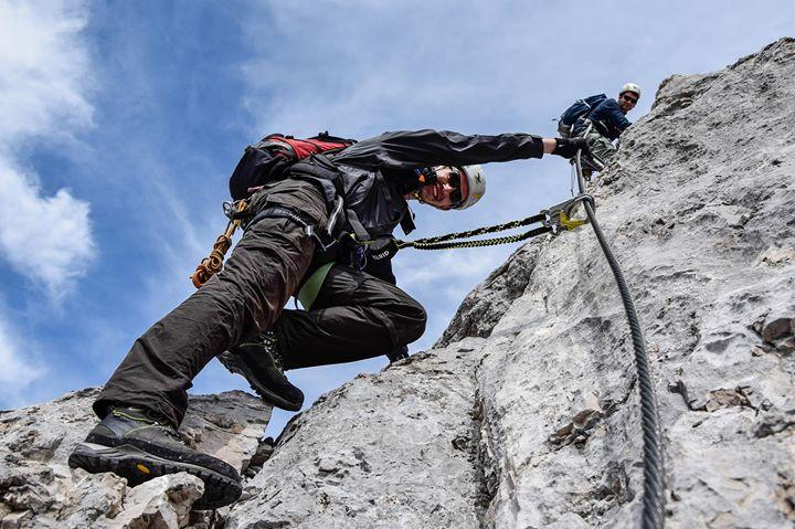 Klettersteigkurs : Klettersteigkurs für anfänger at nationalpark gesäuse johnsbach