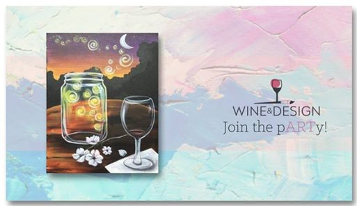 Sip Paint Sweet Carolina Nights At Wine Design Wake Forest