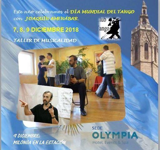 Celebramos el Da Mundial del Tango con Joaqun Amenbar