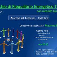 Cattolica (RN) serata di Riequilibrio Energetico Totale