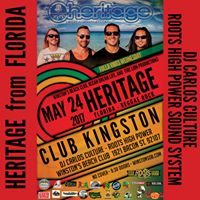 Club Kingston - Heritage and RHPSS with DJ Carlos Culture