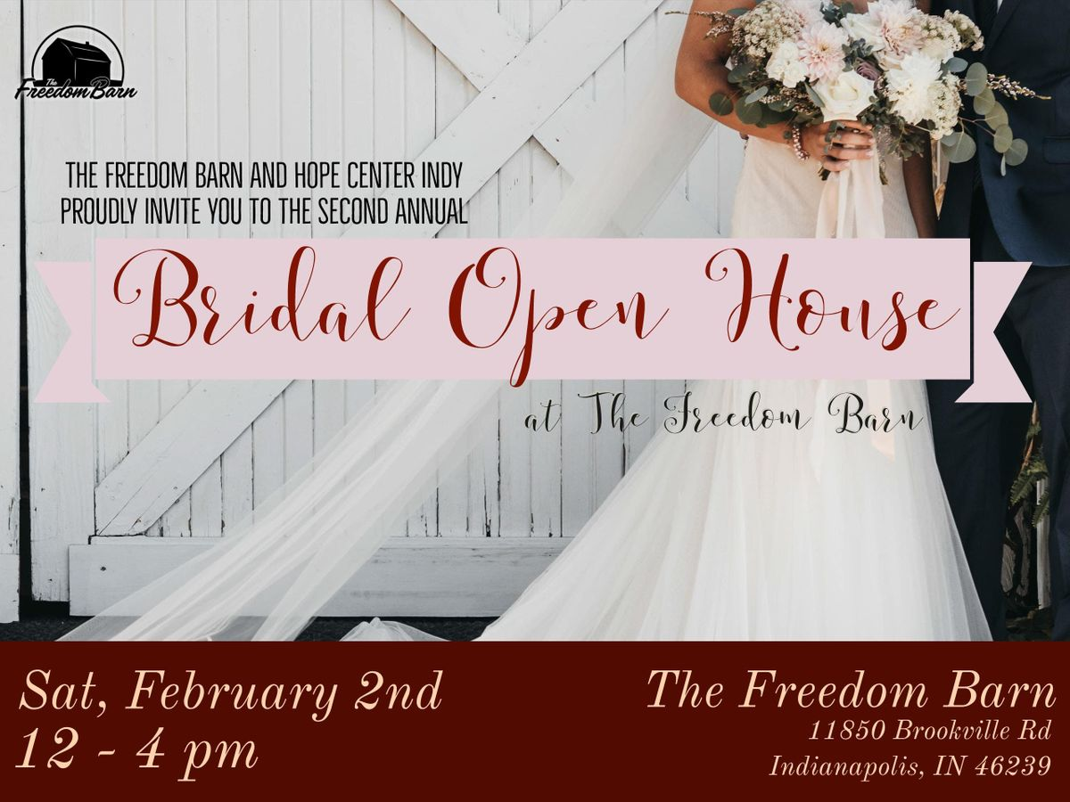 Bridal Open House at The Freedom Barn | Indianapolis