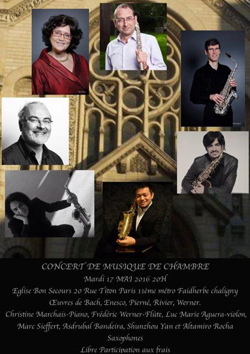 Concert musique de chambre onvasortir paris for Bach musique de chambre