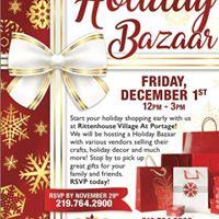 3rd Annual Rittenhouse Portage Christmas Bazzar