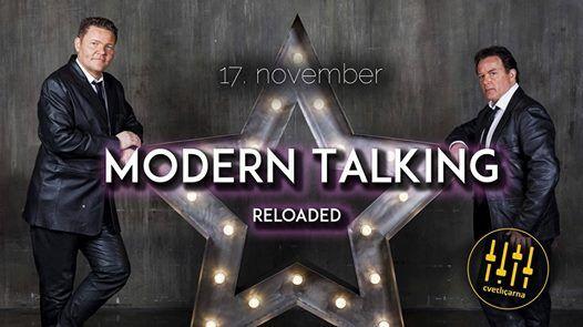 MoDERN TALKiNG Reloaded  Cvetliarna 17. November 2018