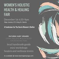 Womens Holistic Health &amp Healing Fair