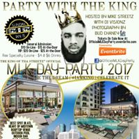 Mike Streetz Official MLK Day-Party 2017