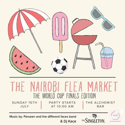 The Nairobi Flea Market World Cup Finals Edition