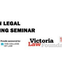 LSS Plain Legal Writing Seminar (sponsor The College of Law)