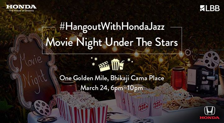 HangoutWithHondaJazz - Movie Night Under The Stars