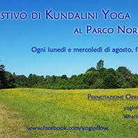 Corso estivo di Kundalini Yoga al Parco Nord