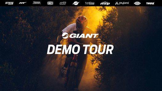 Giant Demo Tour at Prairie City Race Series 1