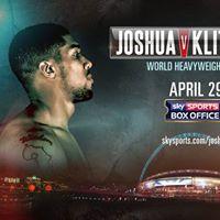 Canal Bar Live Presents Joshua V Klitschko