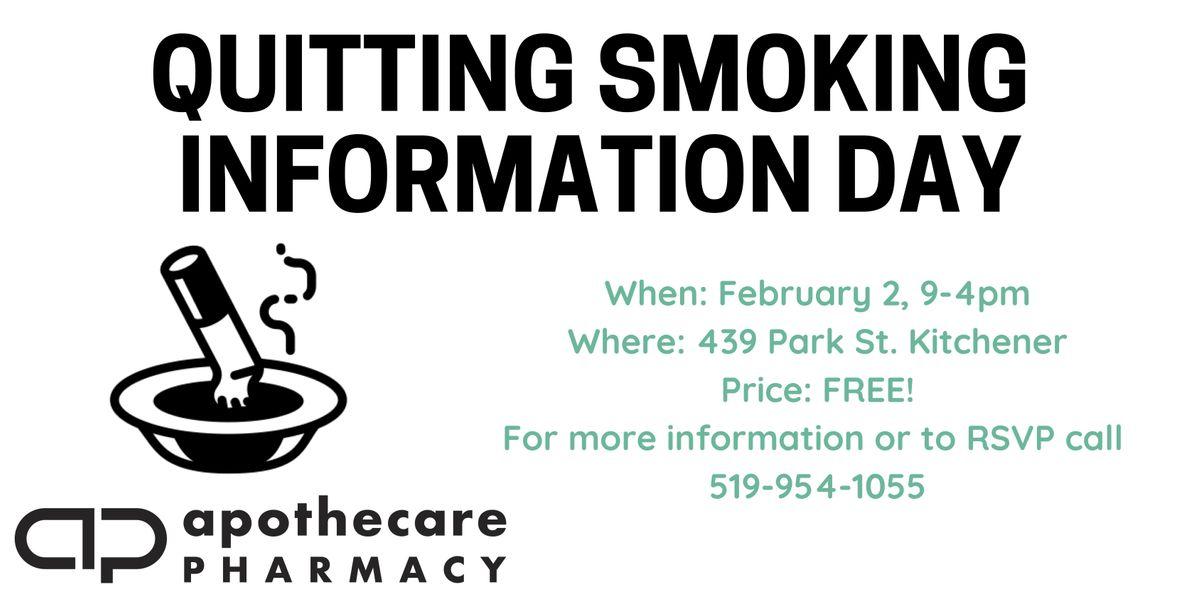 Quit Smoking Information Day