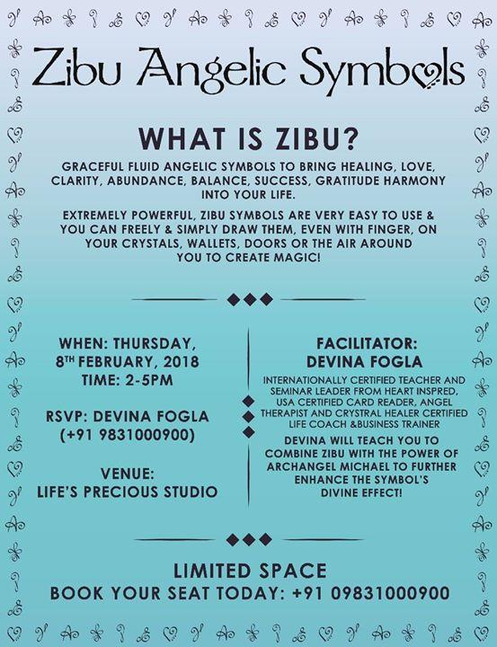 Zibu Angelic Symbols Workshop At Lifes Precious Healing Studio By