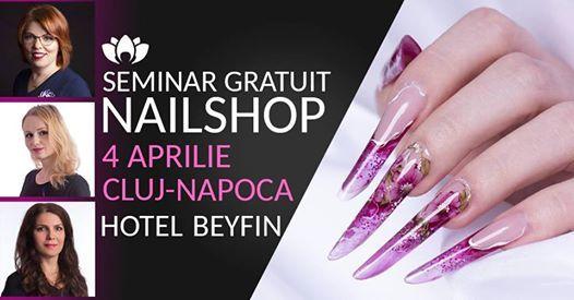 Seminar Gratuit NailShop n Cluj Napoca