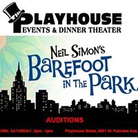 Barefoot in the Park auditions