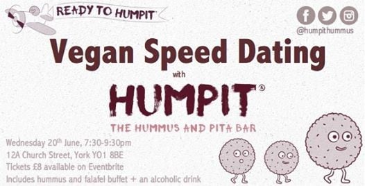 Vegan speed dating