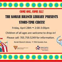 Story-Time Circus