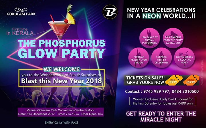 The New Year Glow Party